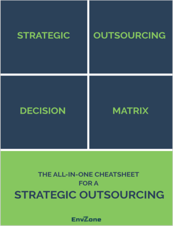 The All-In-One Cheatsheet For A Strategic Outsourcing Decision