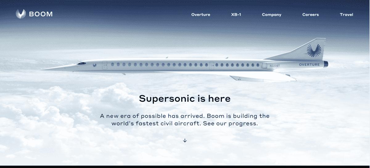 Boom Supersonic F1