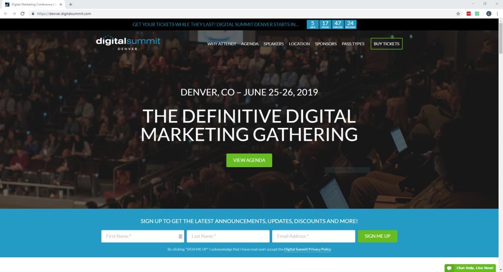Digital Summit Denver