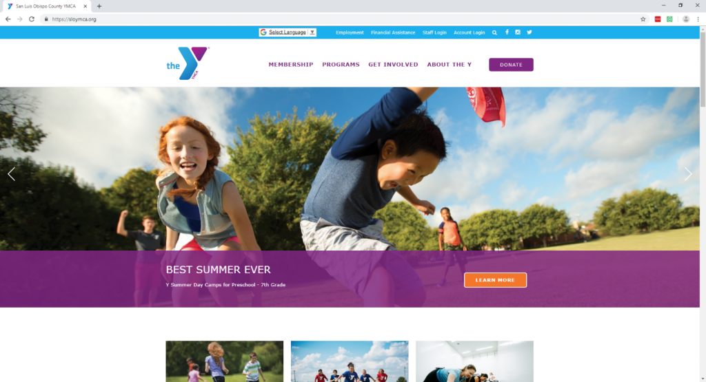 The Most Effective Non-profit Website Design-fig 2