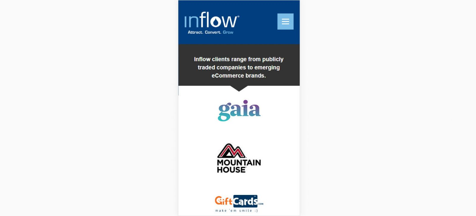 Inflow-Mobile 3