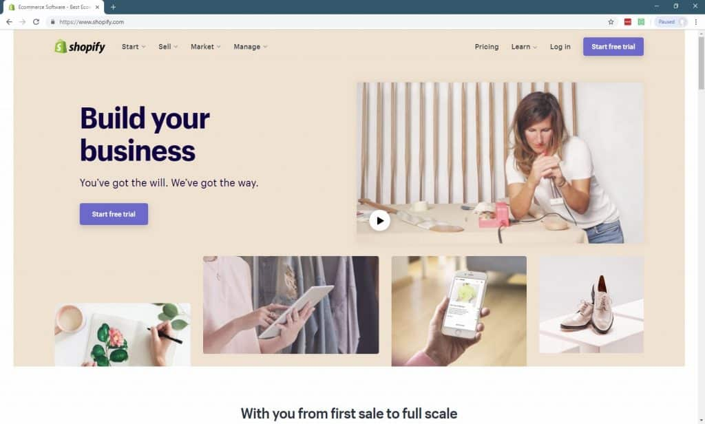 11 Best Website Builders For Small Businesses-shopify