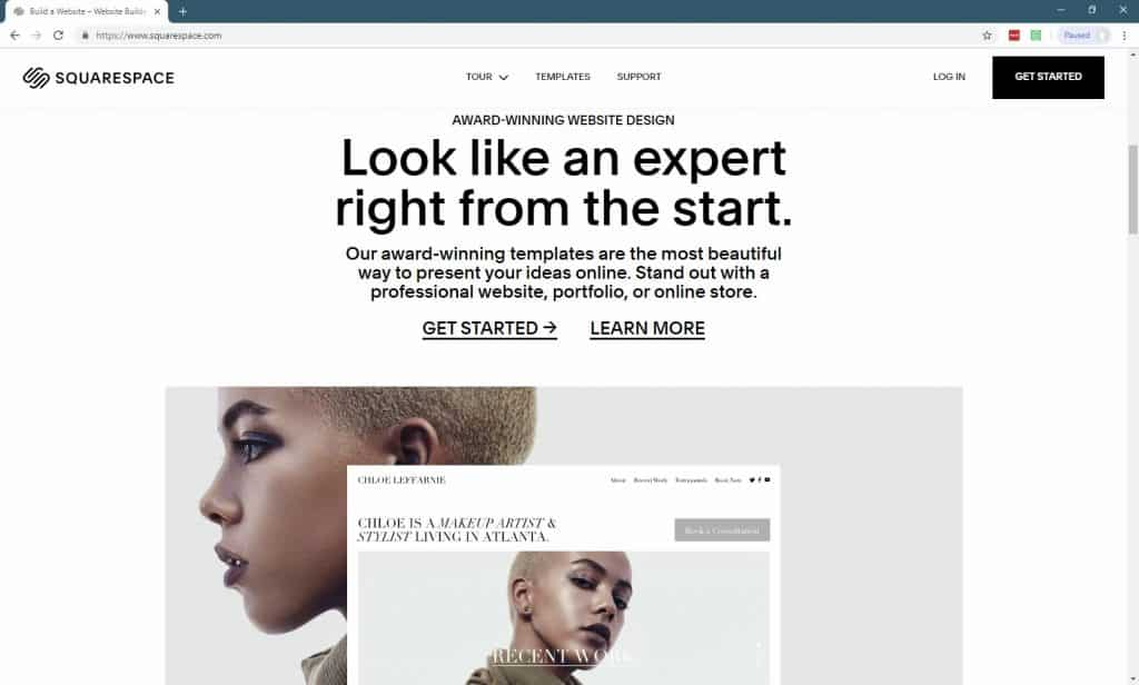 11 Best Website Builders For Small Businesses-squarespace