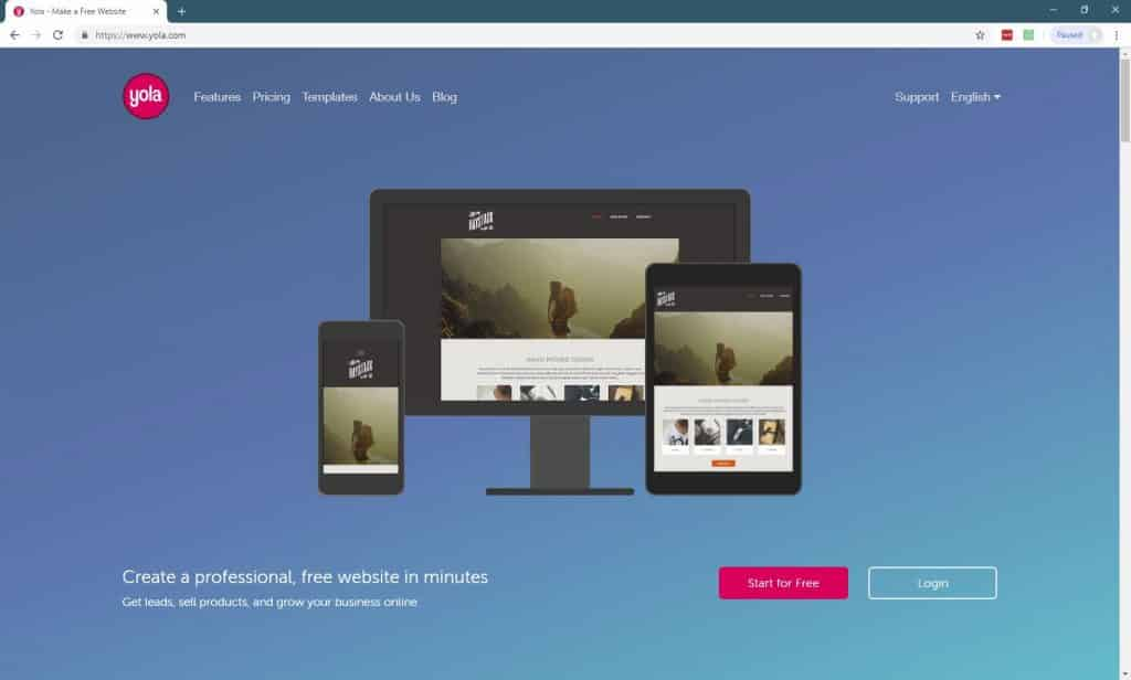 11 Best Website Builders For Small Businesses-yola