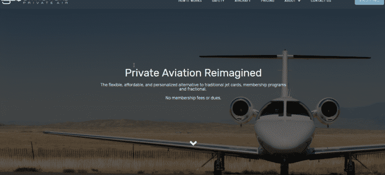 StraightLine Private Air - Fullsize 1