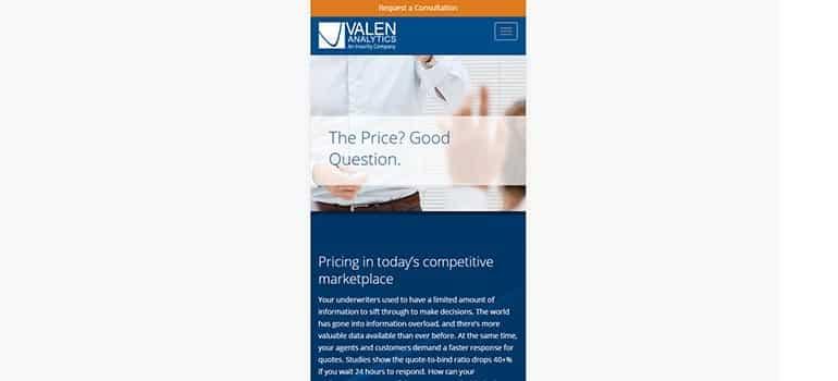 Valen Analytics - Mobile 1