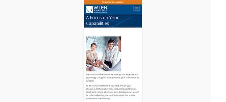Valen Analytics - Mobile 2