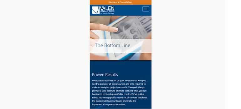 Valen Analytics - Mobile 3