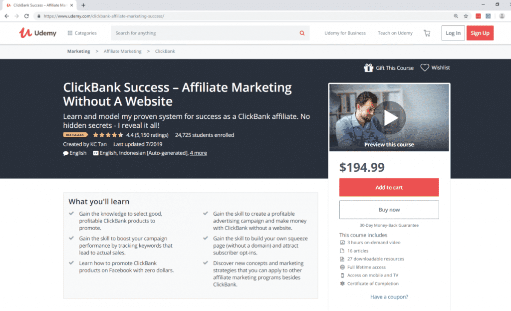 Best Affiliate Marketing Courses To Ignite Your Affiliate Potential -Fig 2