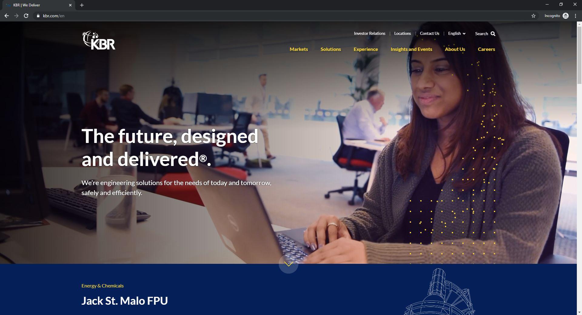 Best 6 ENR Website Designs Established As Thought Leaders-KBR