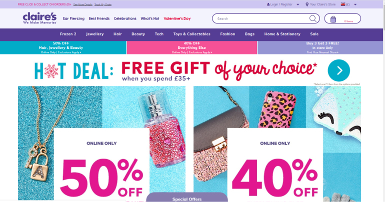 Retailers: Top 10 Websites with User Centric Design 5
