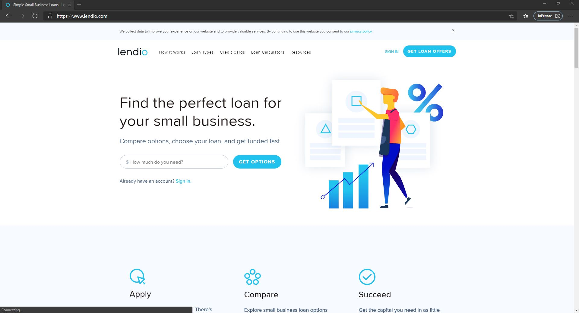 4 Fintech Solutions For SMBs-lendio Banking