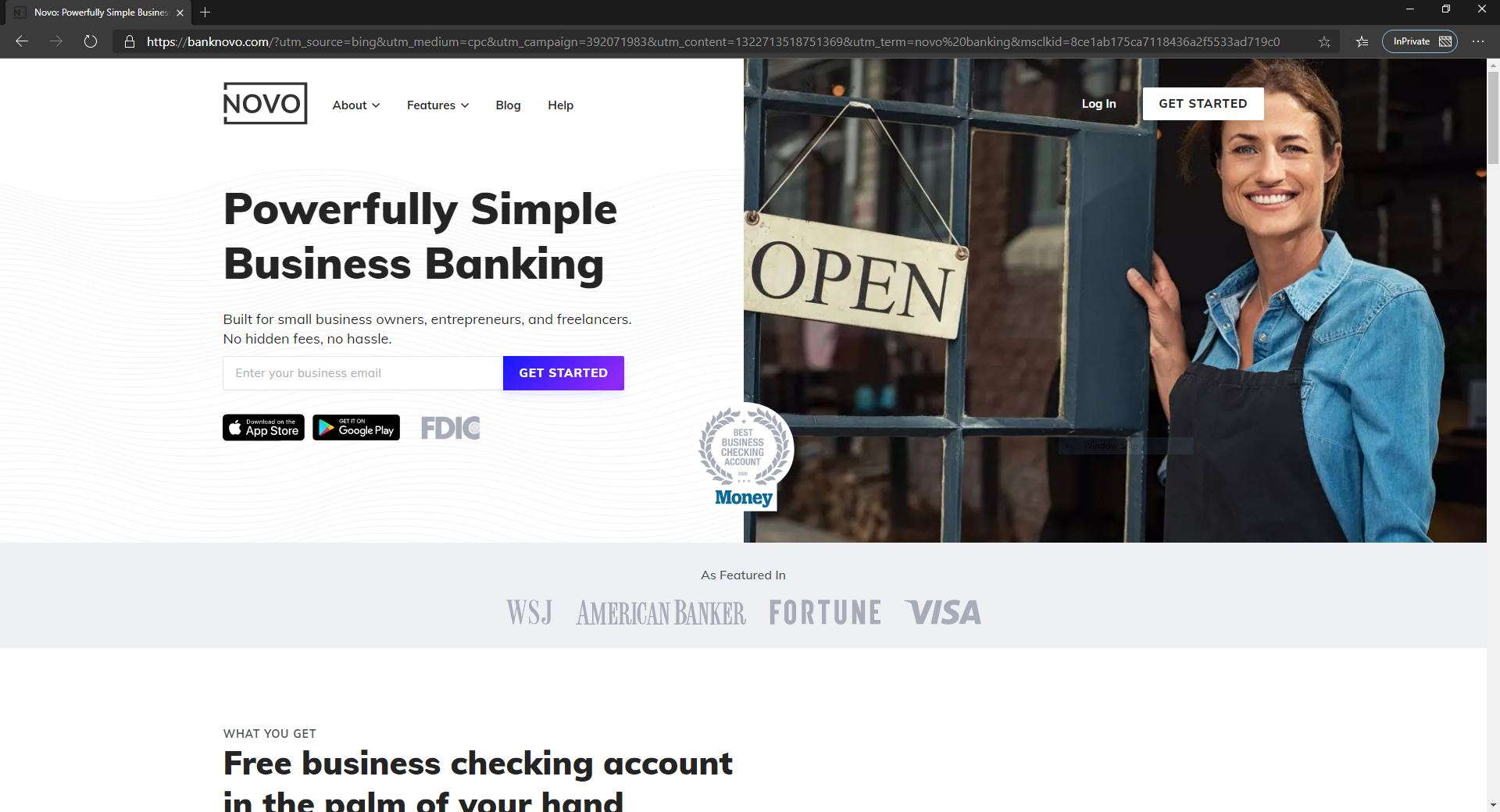 4 Fintech Solutions For SMBs-novo Banking