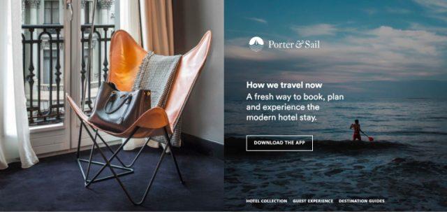 3 Prominent Startups Striking the Hospitality Technology-Porter & Sail