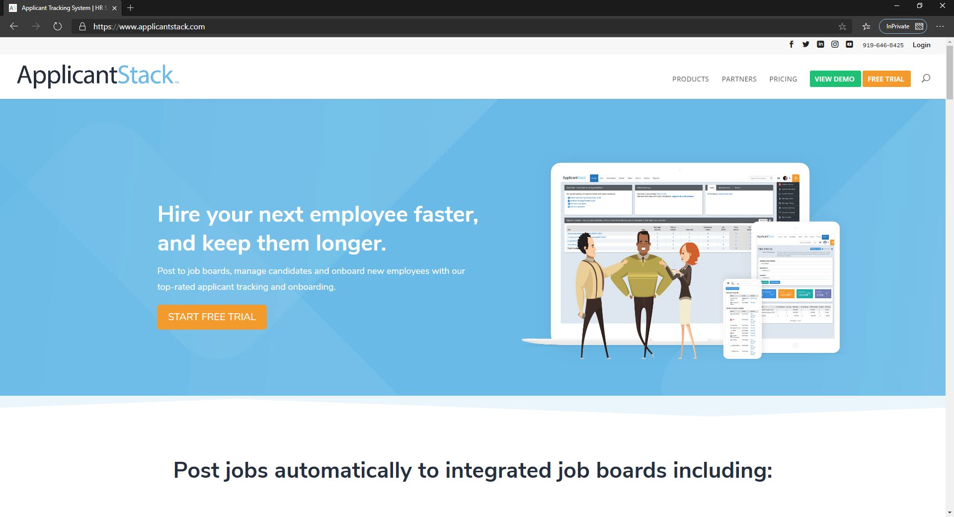 10 Best Recruiting Software For Small Businesses & Startups Companies-Applicant Stack-Fig 1