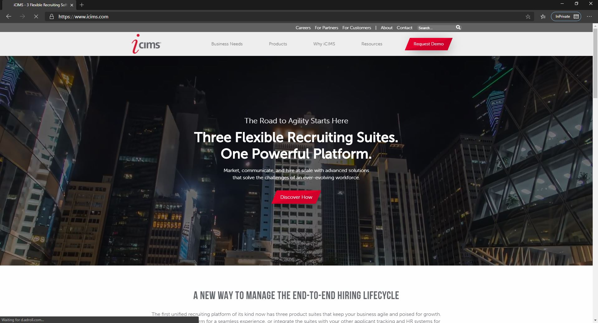 10 Best Recruiting Software For Small Businesses & Startups Companies-ICIMS-Fig 1