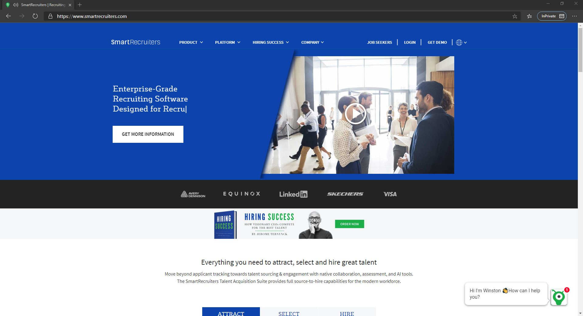 10 Best Recruiting Software For Small Businesses & Startups Companies-Smart Recruiter-Fig 1