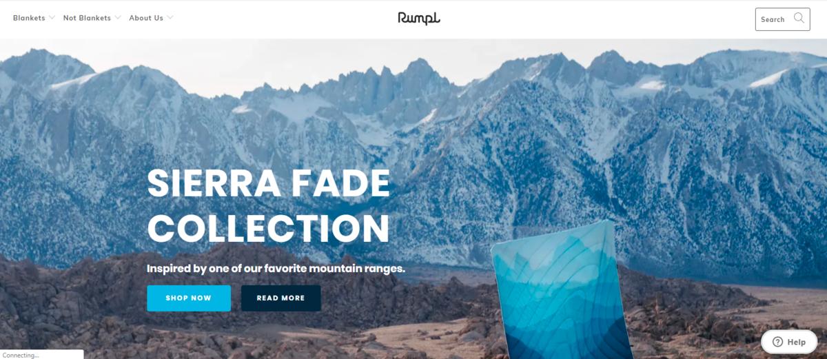 Homepage Design 101-Rumpl