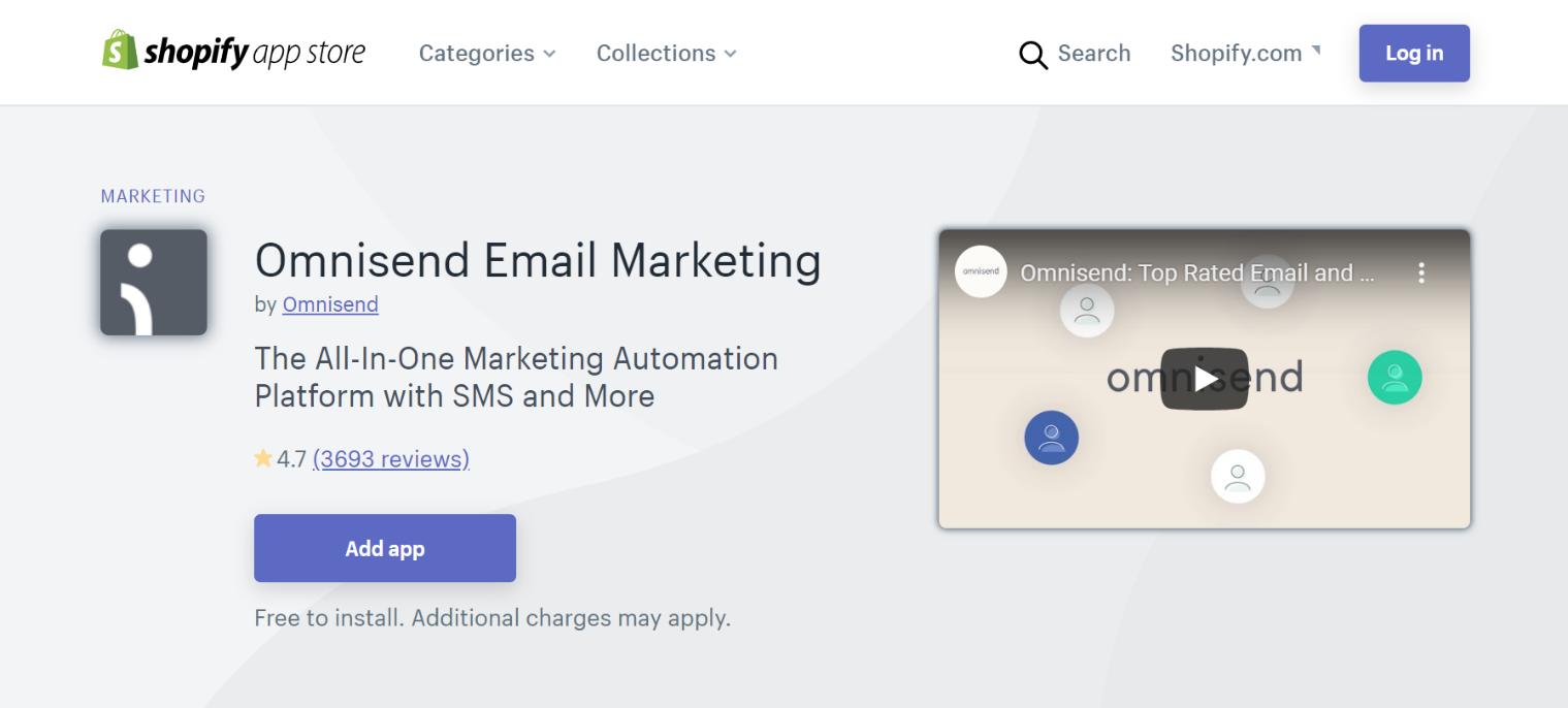 Omnisend Email Marketing App
