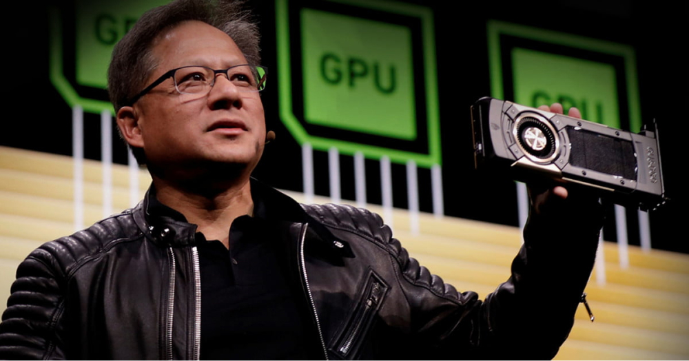 NVIDIA CEO pitch about GPU product
