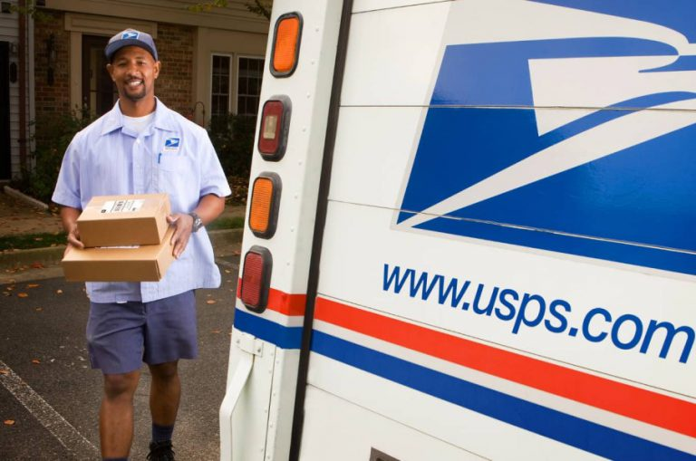 USPS delivery man