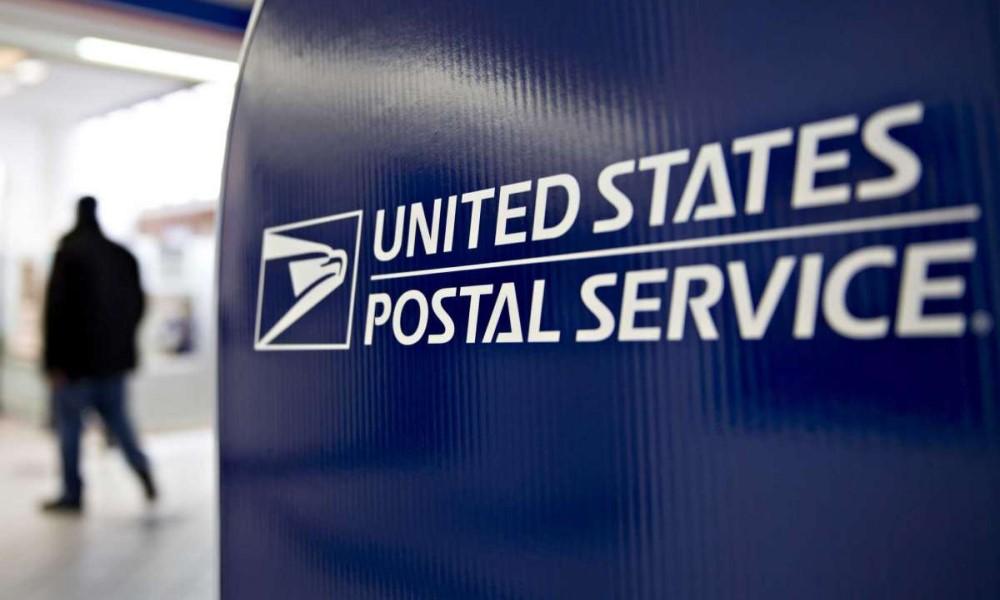 USPS mail drop box