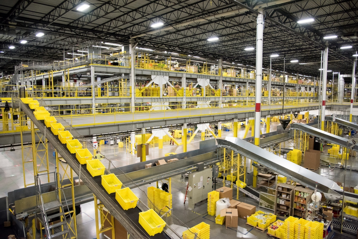 Prologis warehouse and good processing chain