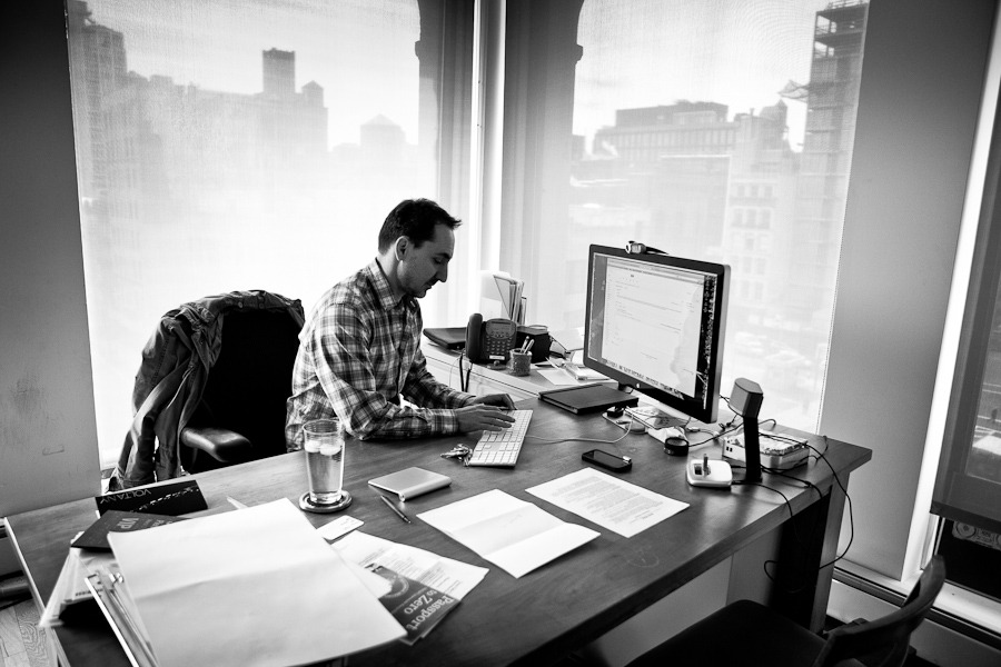 David Droga is working on computer