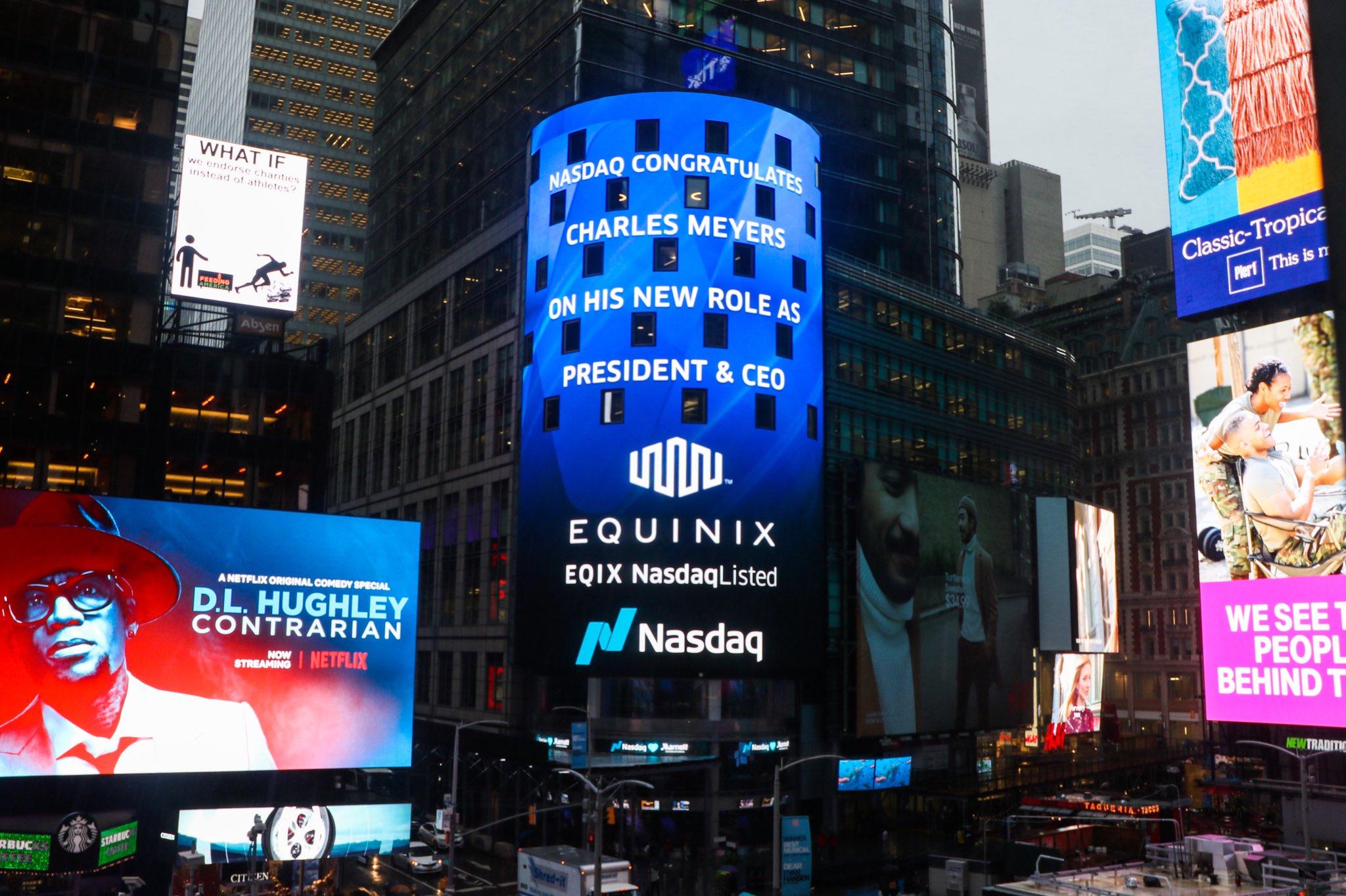 Equinix at Times Square