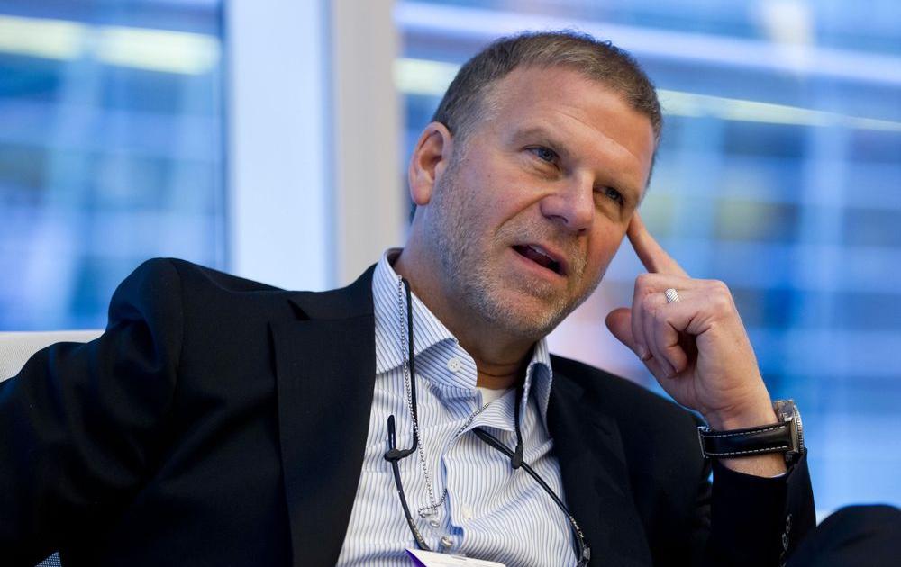 Tilman Fertitta at conference
