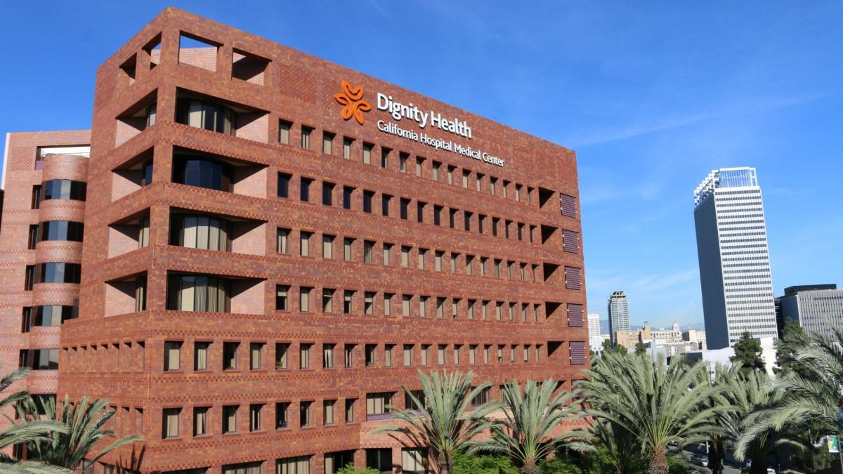 Dignity health hospital in California