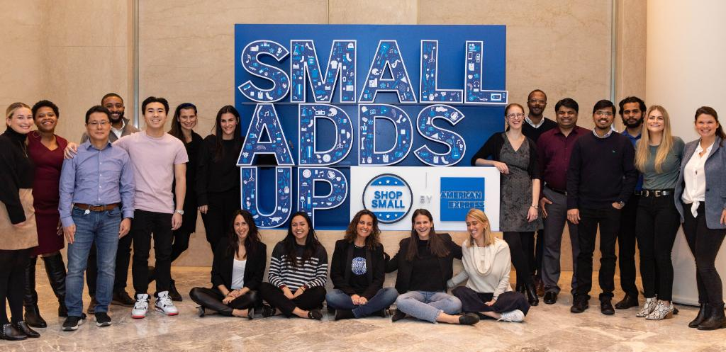 young professionals at small business conference