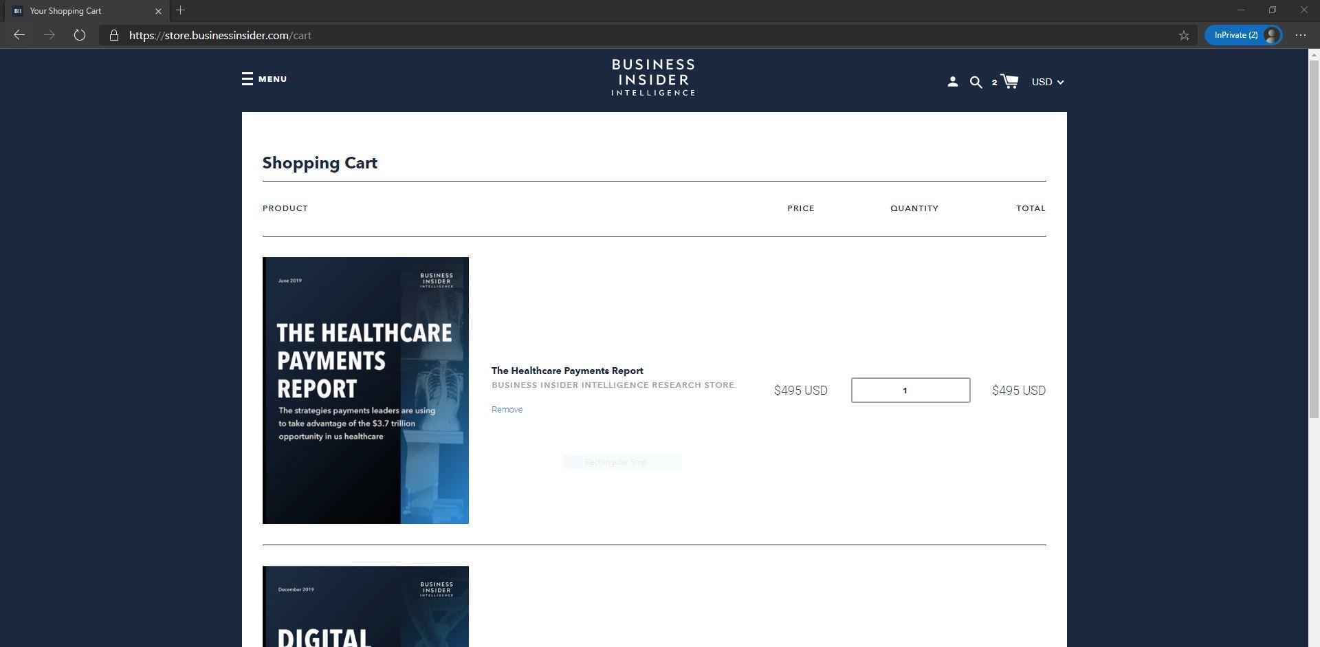 Business Insider resource marketplace