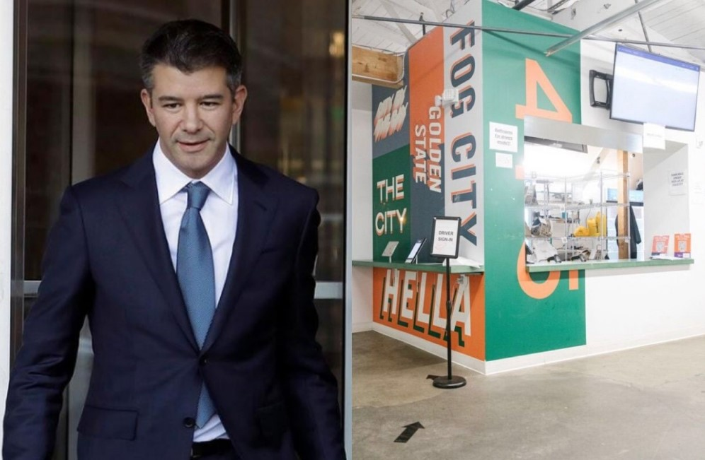 Travis Kalanick with his CloudKitchens startup