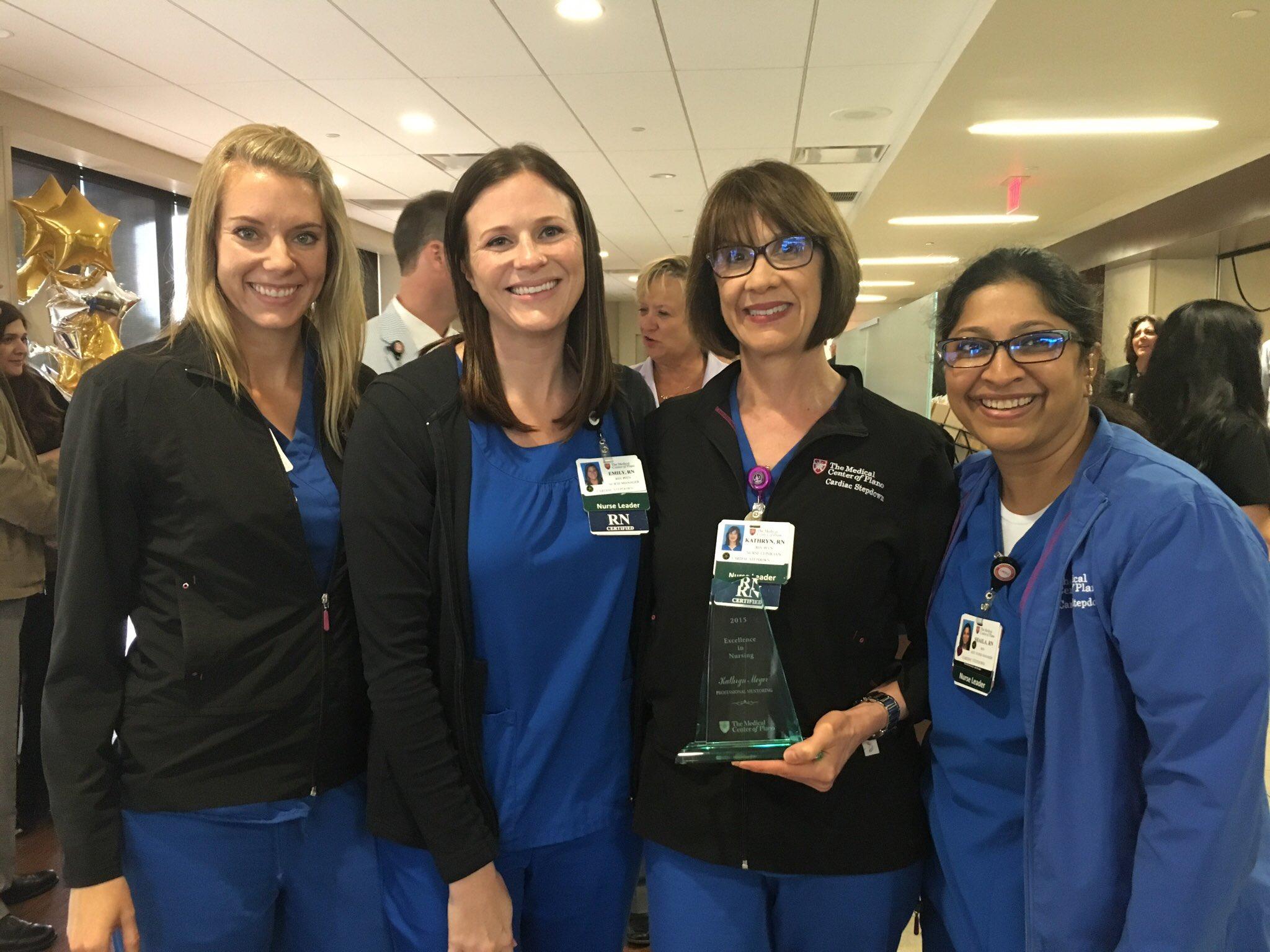 HCA medical staff received award