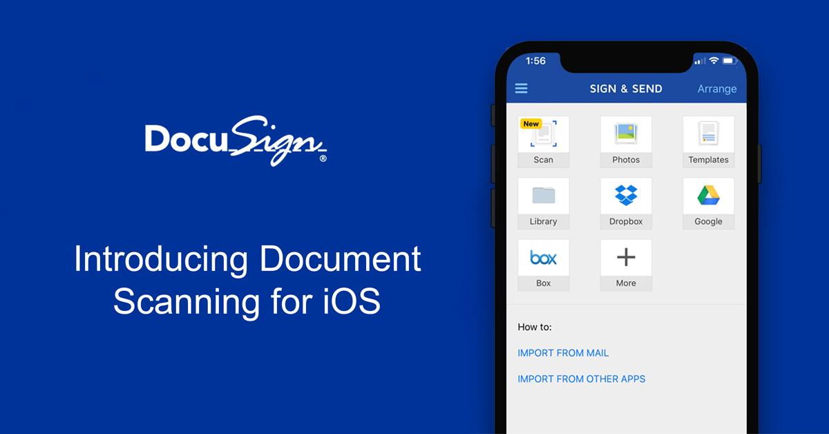 DocuSign mobile app