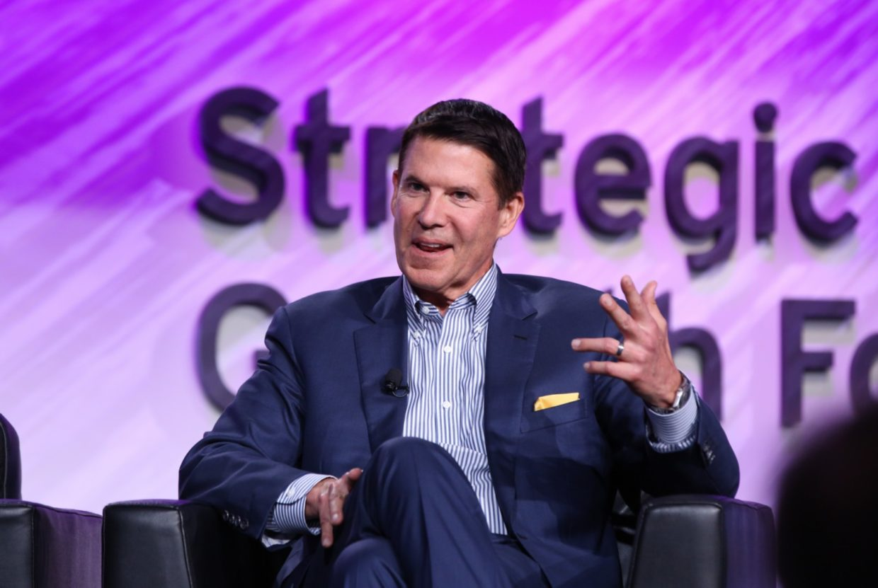DocuSign leadership team in strategic conference