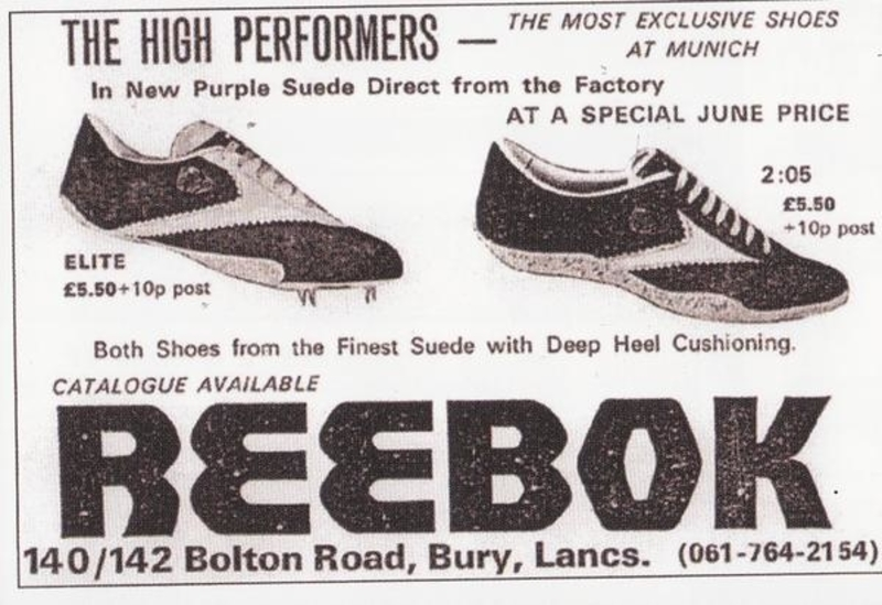 Reebok design concept for shoes