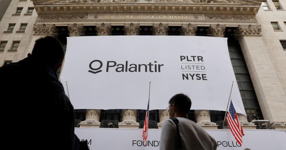 Palantir goes IPO at NYSE