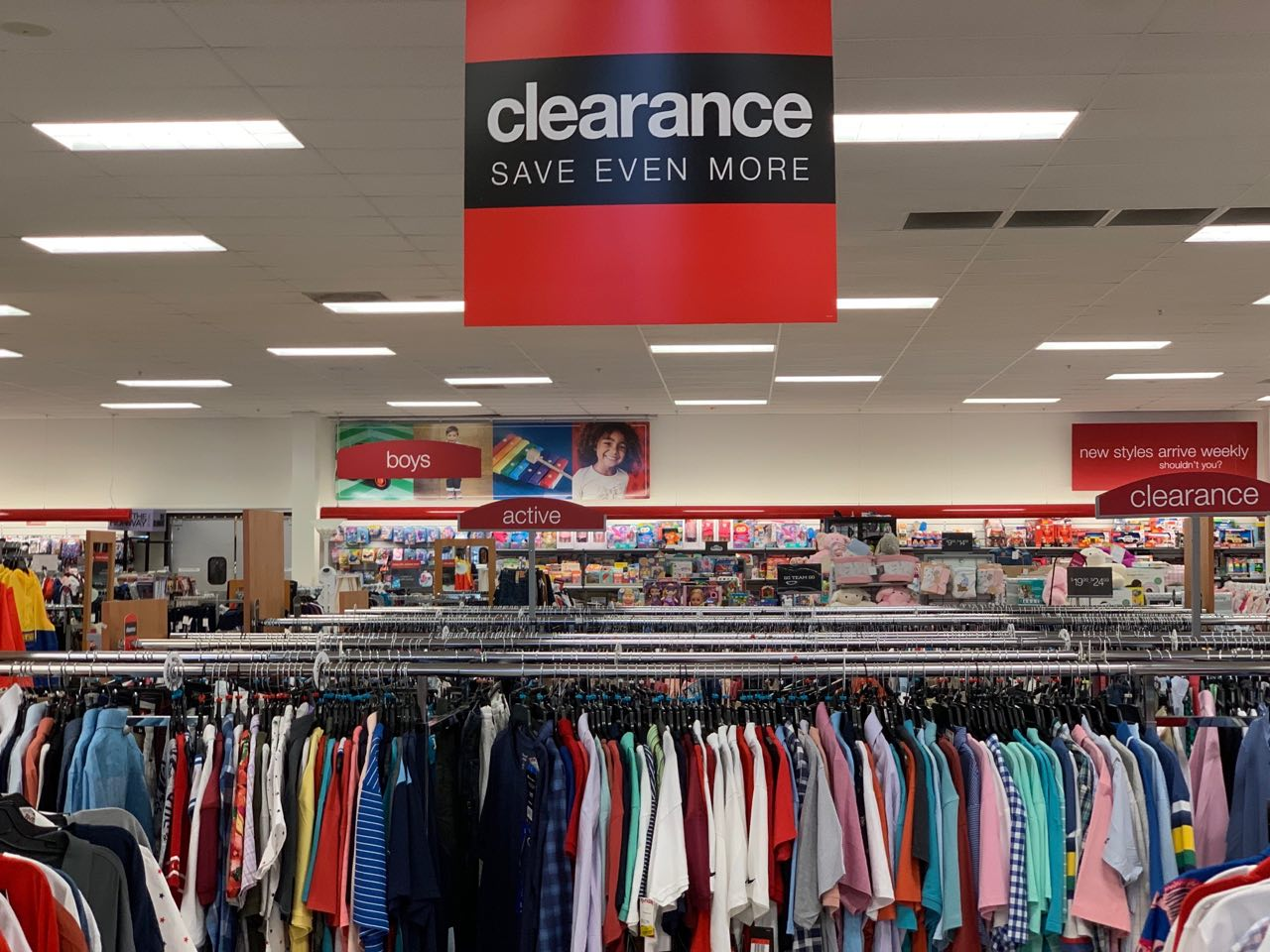 Clearance price in TJ Maxx