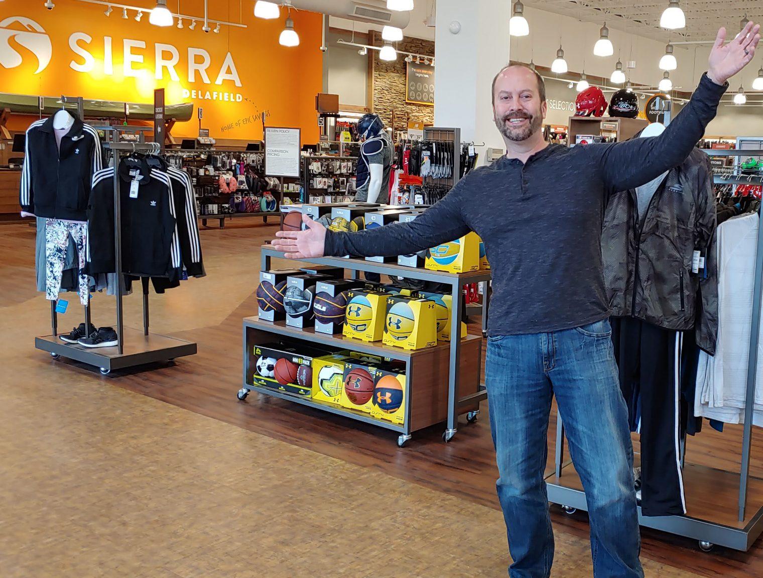 TJ Maxx staff in a store
