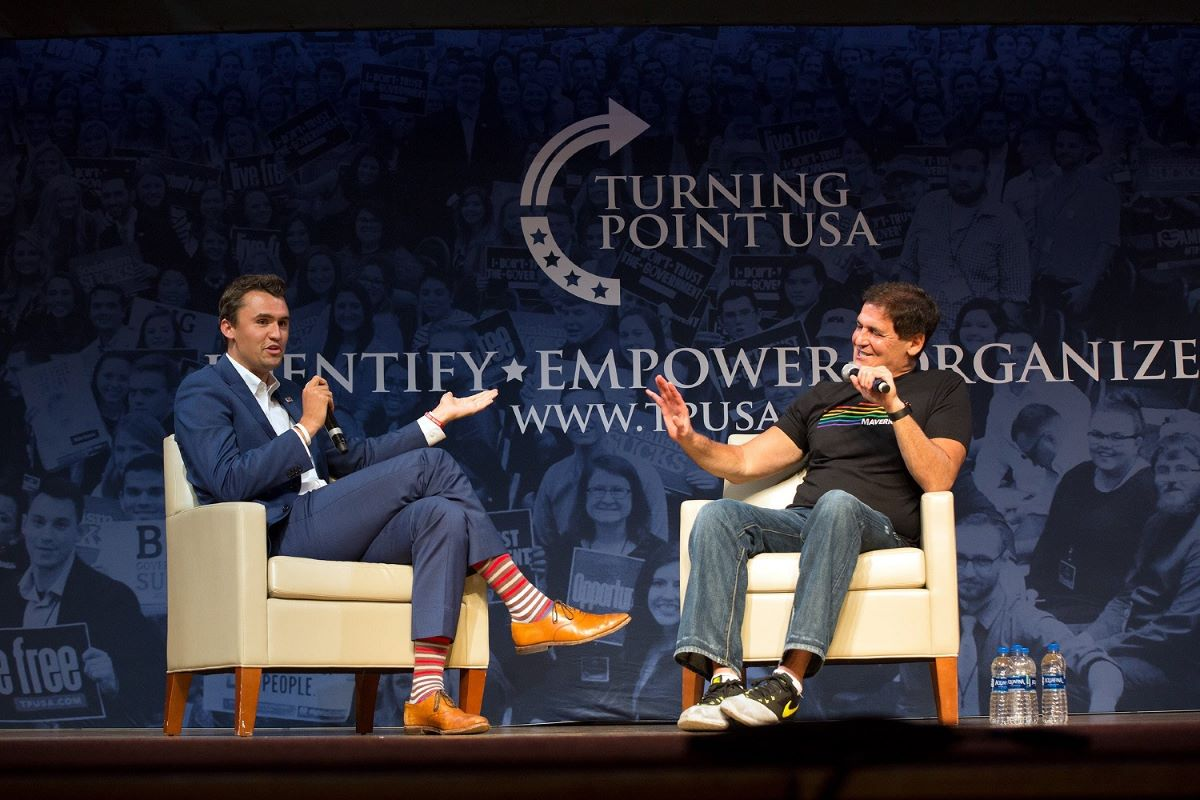 Mark Cuban on Turning Point USA