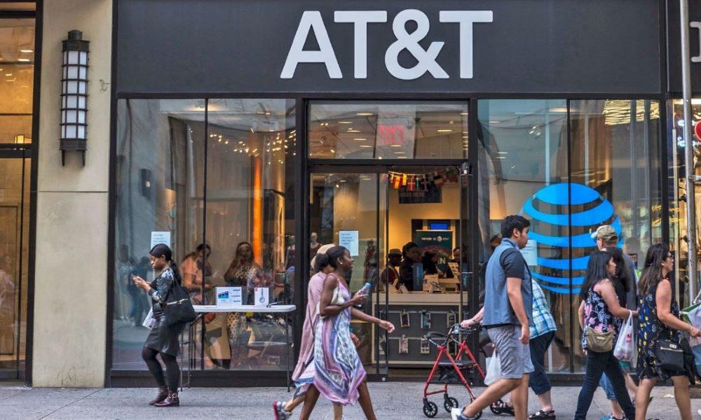 ATT retailer store in New York