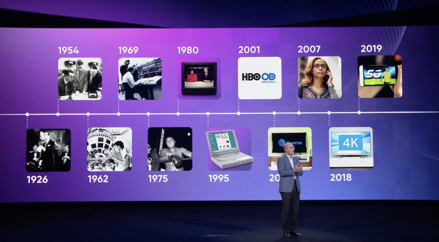 ATT CEO John Stankey give talk on streaming services