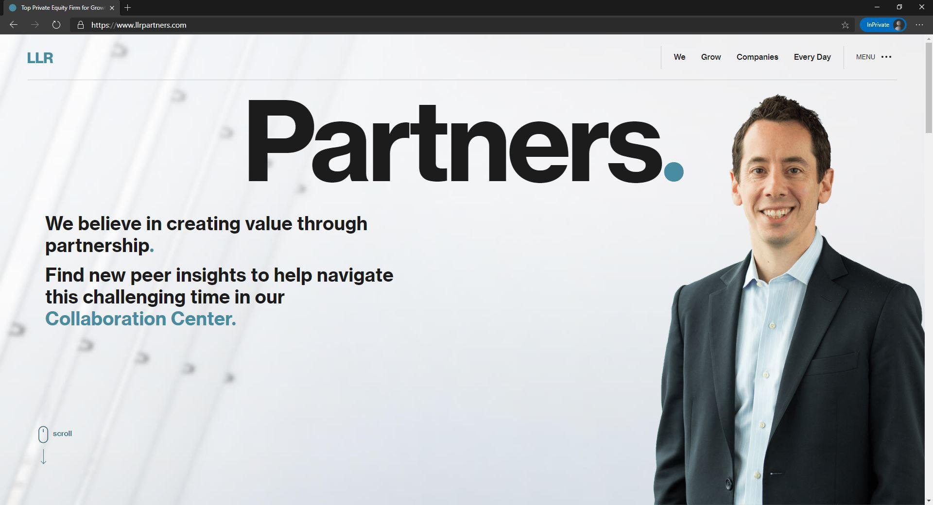 LLK Partners website