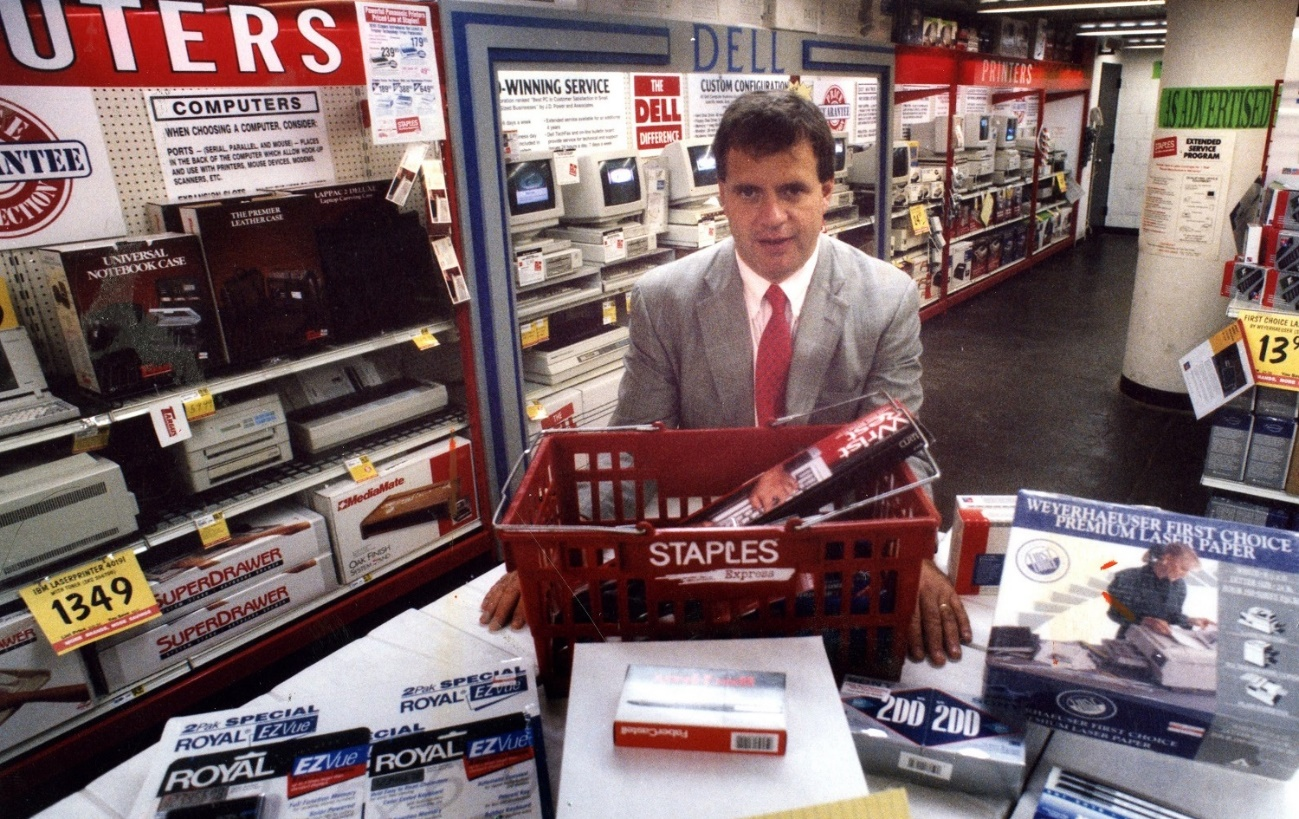 Staples in early 90s