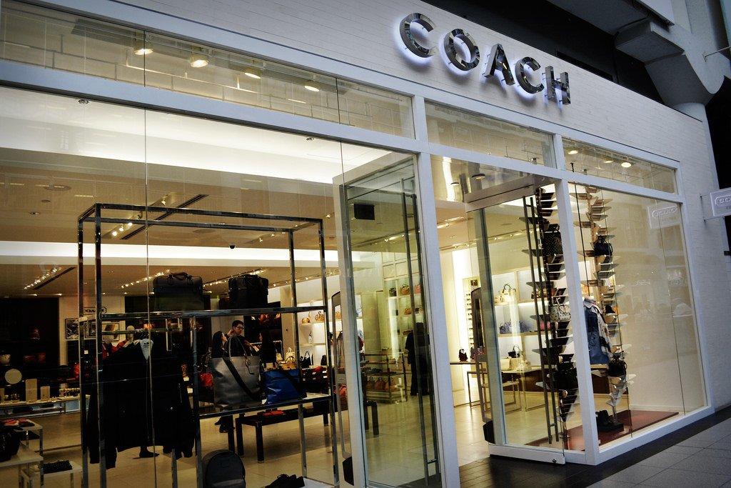 Coach retail storefront