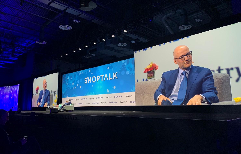 Former Coach CEO, Luis Victor at ShopTalk conference