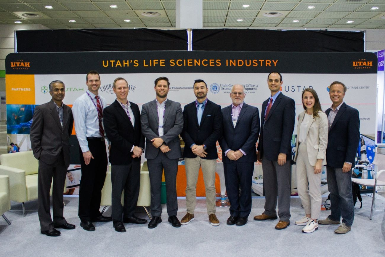 Biotech companies in UTAH science conference