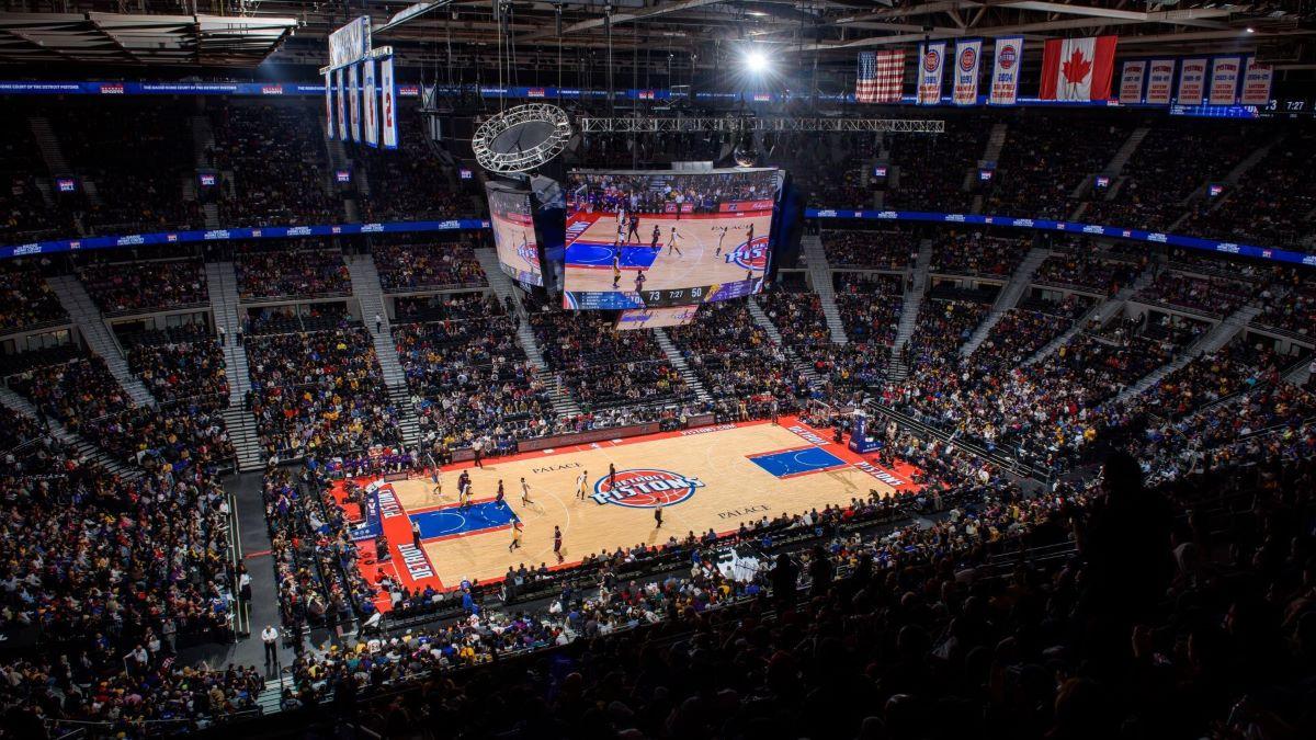 NBA in New York stadium